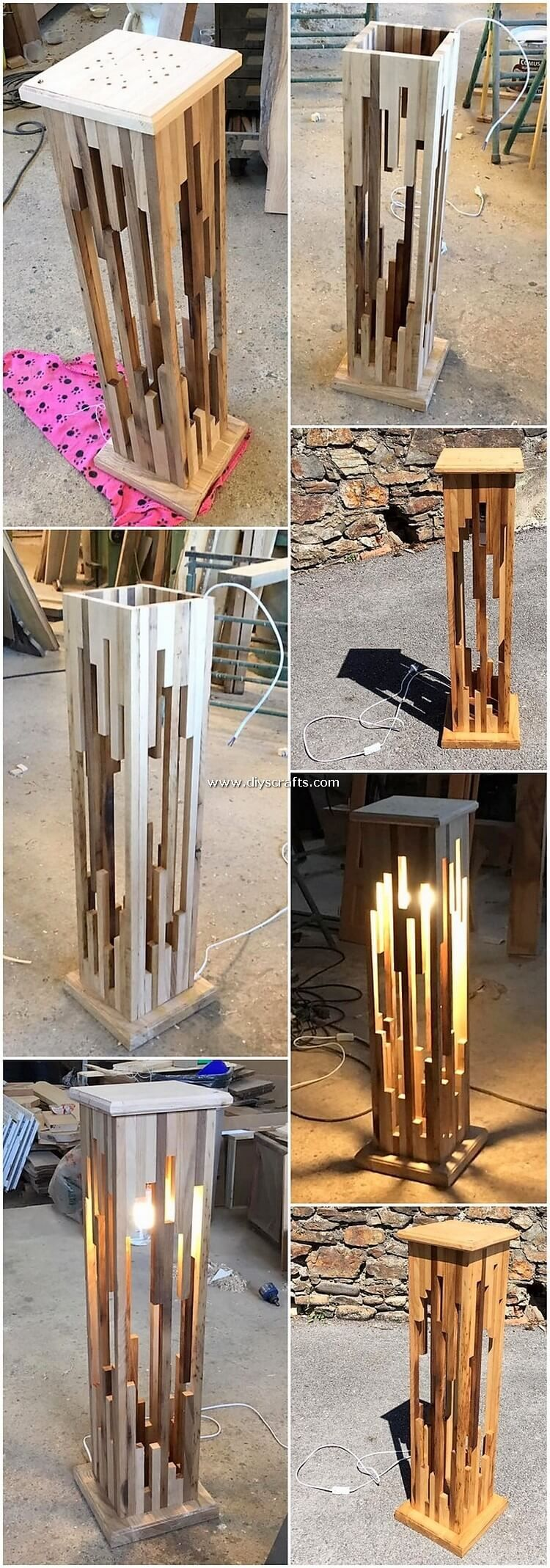 Implausible DIY Creations Made with Wooden Pallets | DIY & Crafts #candles
