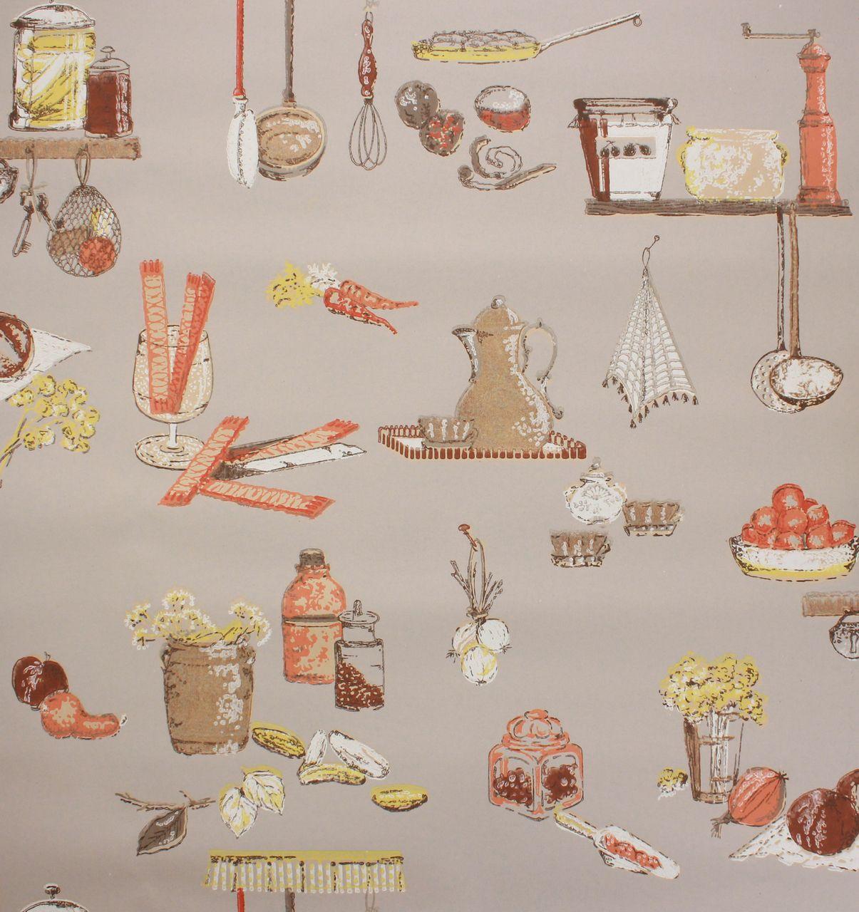 100+ [ Kitchen Wallpaper Vintage ] | Kitchen Wallpaper ...