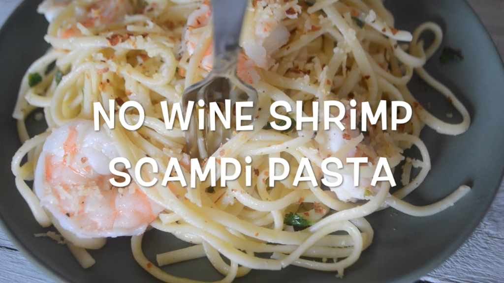 No Wine Easy Shrimp Scampi Recipe Food Recipes Recipes Food