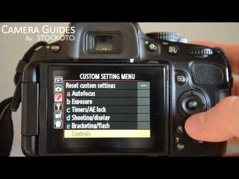 how to set ae l af l on a nikon d5100 d5200 d5300 youtube rh pinterest com Nikon D5100 Cheat Sheet Nikon D5200