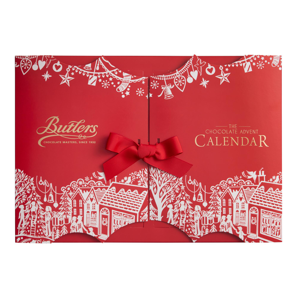 Butlers Chocolate Advent Calendar | World Market #wineadventcalendardiy