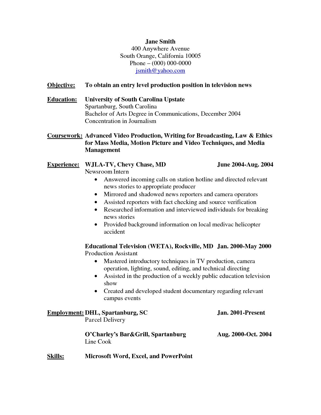 70 Cool Photos Of Resume Examples Media Production Check More At Https Www Ourpetscrawley Com 70 Cool Photos Of Resume Manager Resume Resume Resume Examples