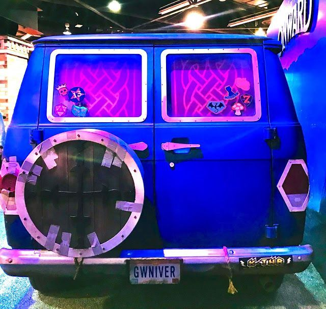 Photo of Take a Look at the Real-Life Version of Guinevere, The Van From Pixar's 'Onward'…