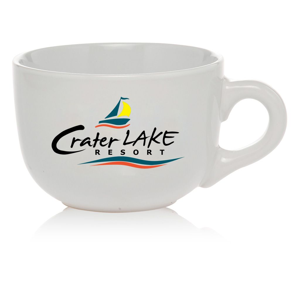 Cappuccino mugs custom printed with your design or logo at wholesale ...