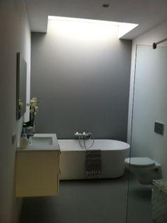 Betonvloer Badkamer Maken : Badkamer op de grond dus de niet goed gevlinderde betonvloer hij
