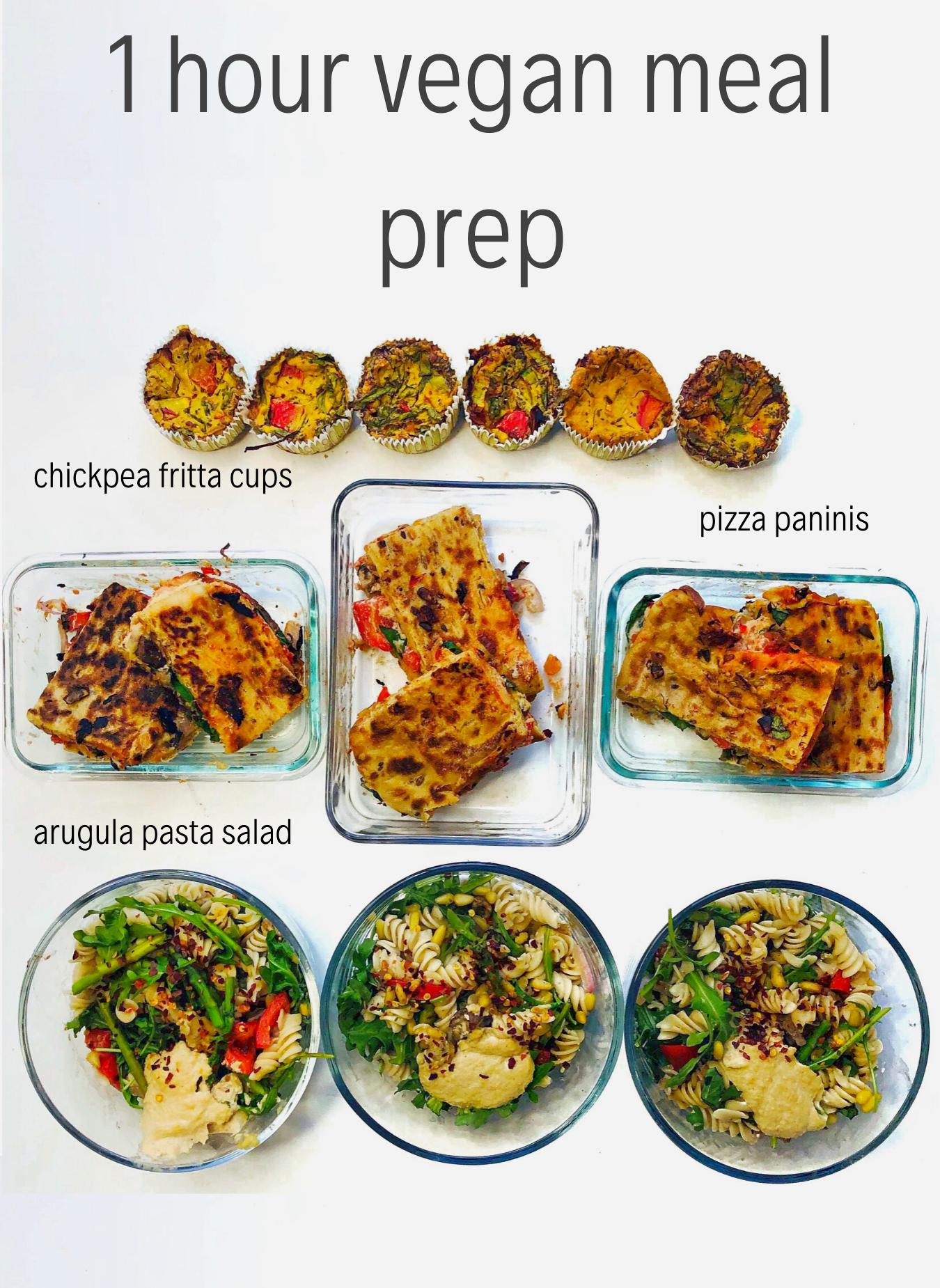 Meal Prep Plan | Vegan Meal Prepping | Healthy Meal Plan | Meal Prep for the Week | Meal Prep Ideas #plantbasedrecipesforbeginners