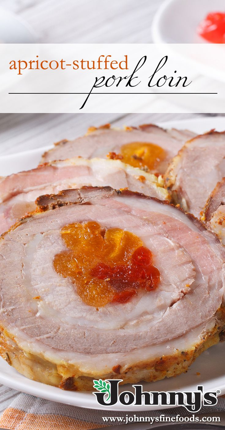 During The Holidays We Love This Apricot Stuffed Pork Loin Recipe