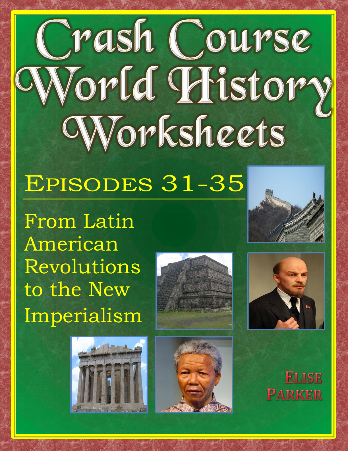 Crash Course World History Worksheets Episodes 31 35