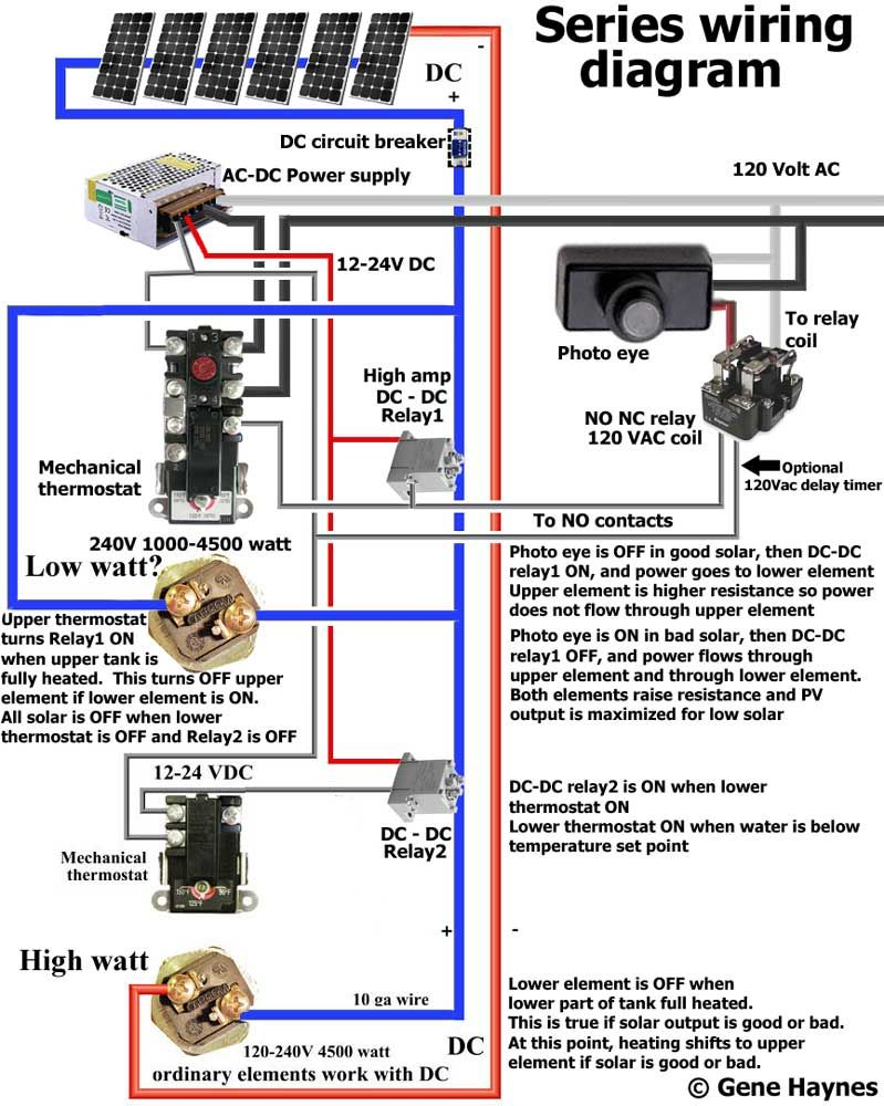 240 Volt Thermostat Relay Wiring