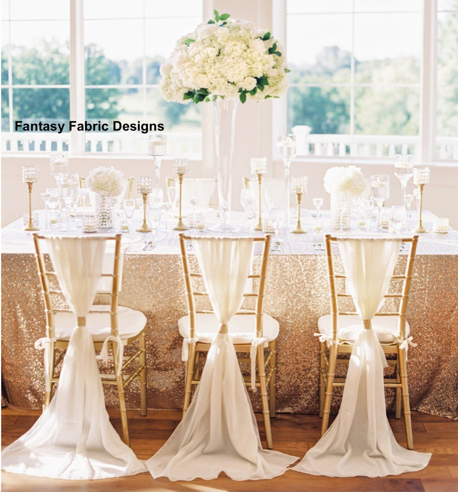 Sale 50 Chiffon Sash Chiavari Chair Cover Sash With Rhinestone Ring Wrap Chair Cover Wedding Recep Wedding Chair Sashes Wedding Chairs Chair Covers Wedding