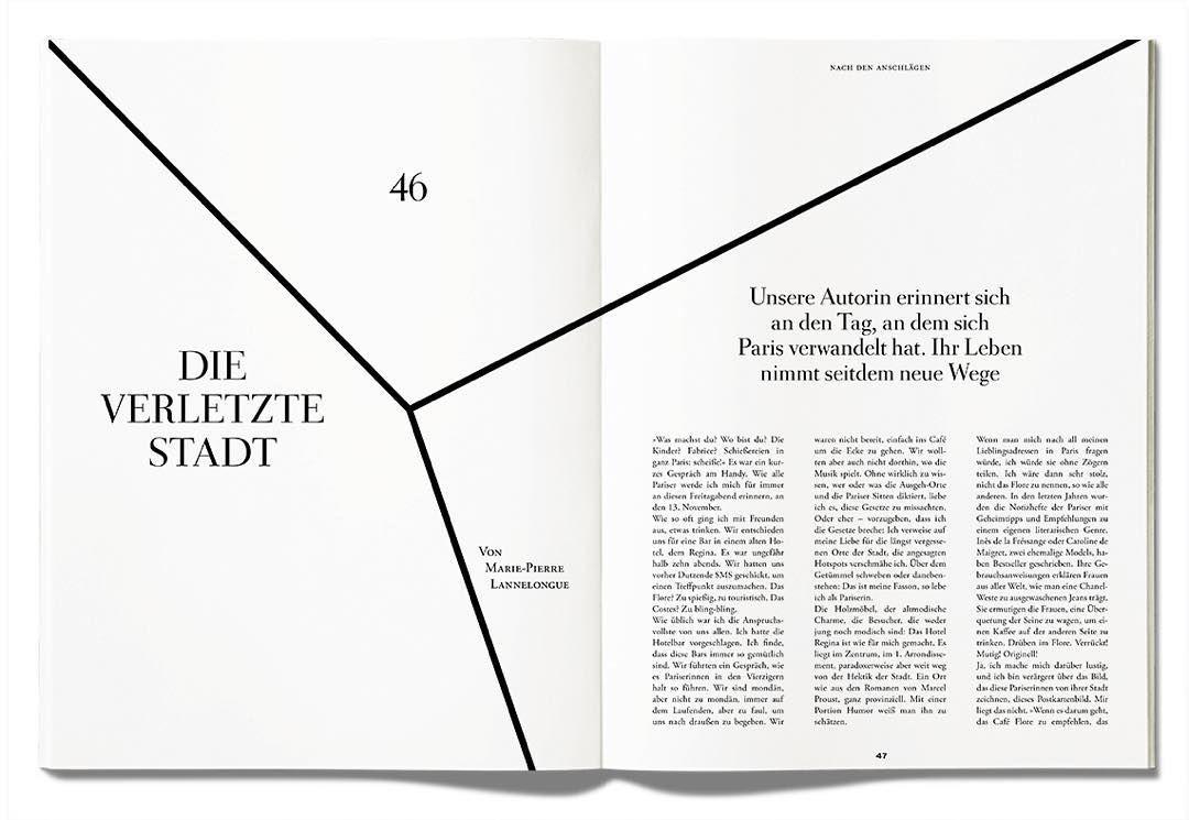 Ein Blick ins neue #ZEITmagazin: #Paris - die verletzte Stadt, von @mariepierrelannelongue