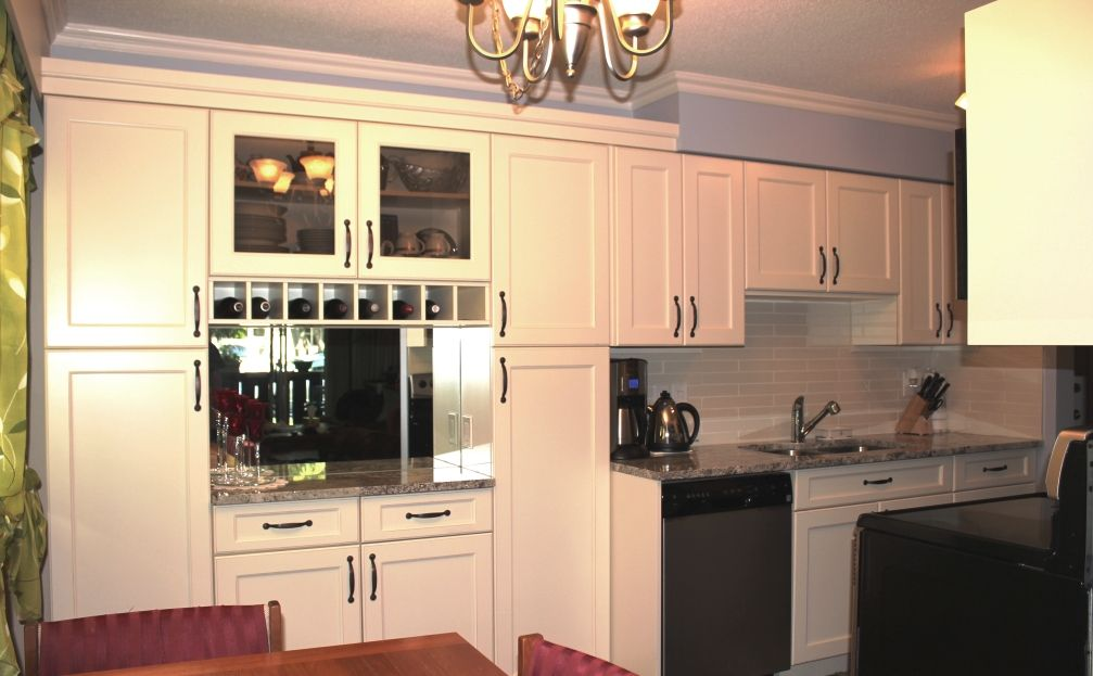 extending kitchen into dining room  Condo Kitchens