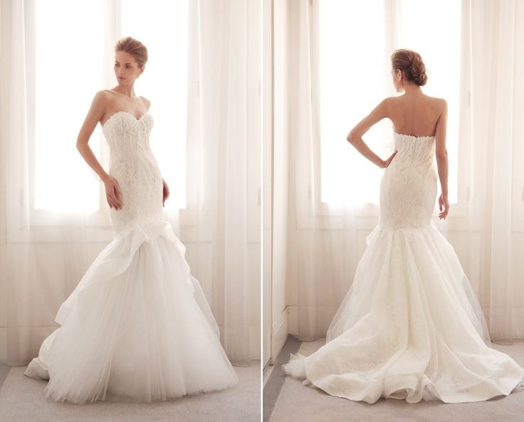 Shruthi In A Dreamy One Shoulder Pronovias Dress: Gemy Maalouf Wedding Dresses & Bridal Gowns Collection