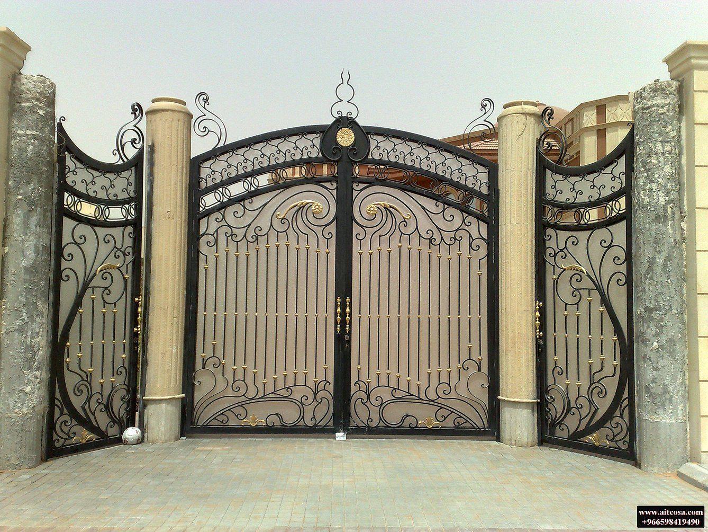 Pin By Saoud Aldhanhani On ابواب خارجية Door Gate Design Main Gate Design Entrance Gates Design
