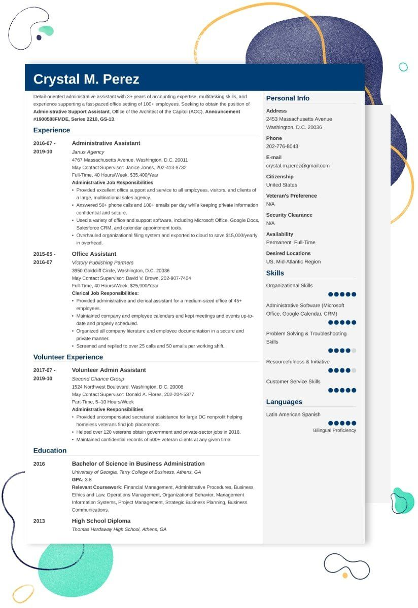 business owner resume summary