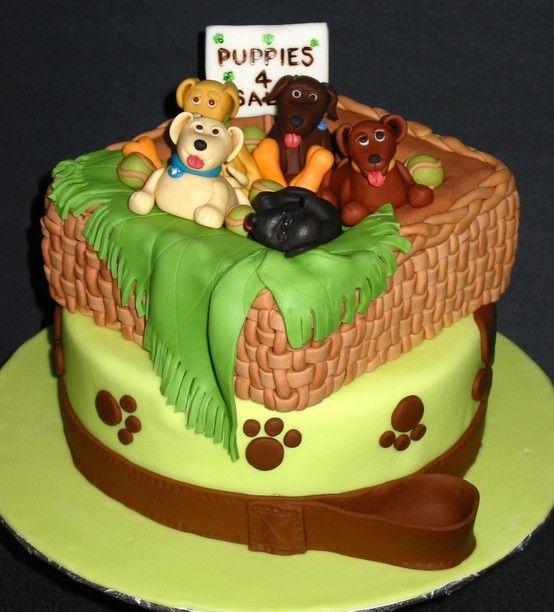 Birthday cake puppies for sale Cakes Pinterest Birthday cakes