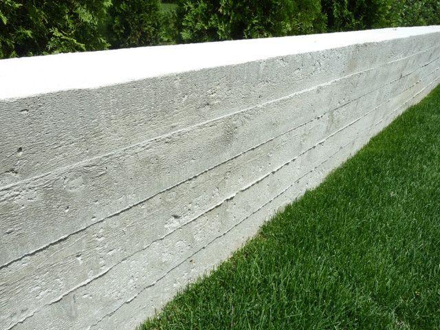 Board Formed Concrete Modern Landscaping Concrete Retaining Walls Board Formed Concrete