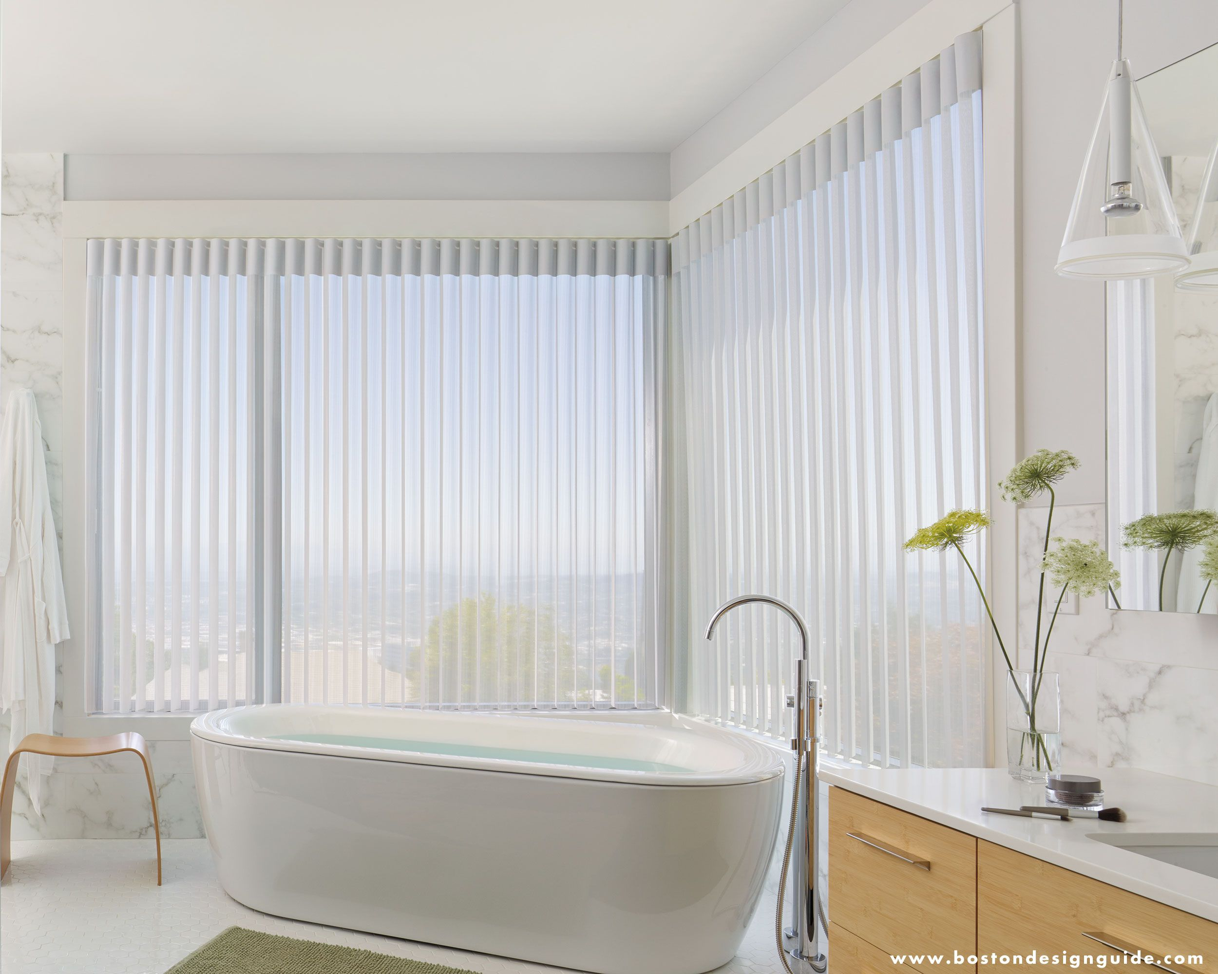 Window Treatments for City High Rise Apartments and Bathrooms (WTI ...