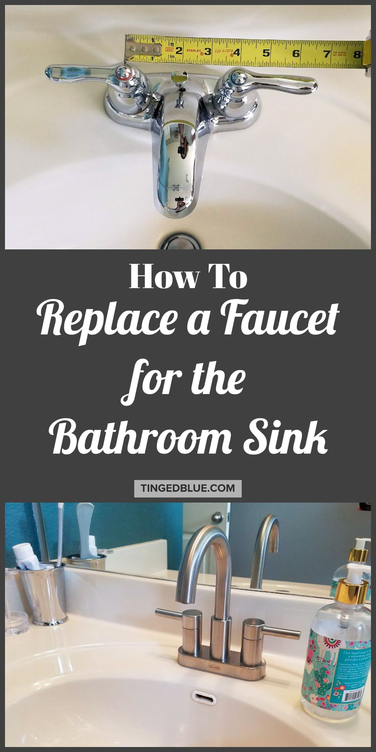 How To Change A Faucet In 2020 Faucet Bathroom Faucets Bathroom