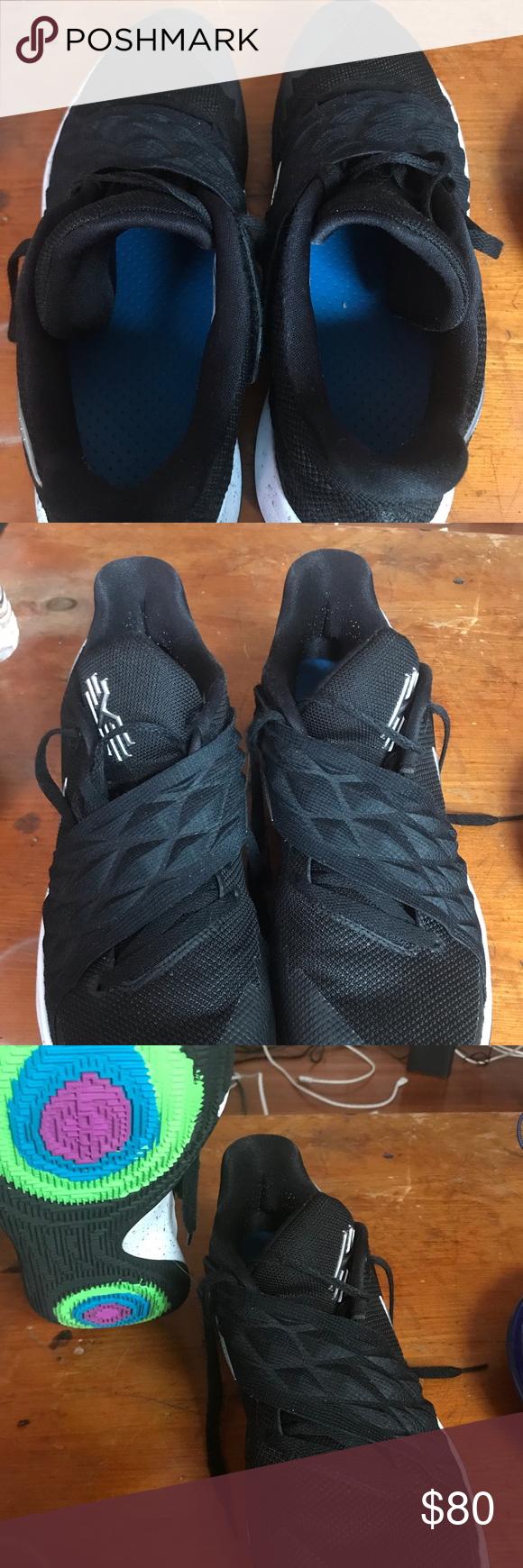Nike Kyrie Low 1 Black Metallic Silver