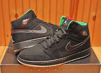 separation shoes 0adc7 3185a 2008 Nike Air Jordan I Retro 1 Cinco De Mayo Size 12 -Black Red Green-136065  107
