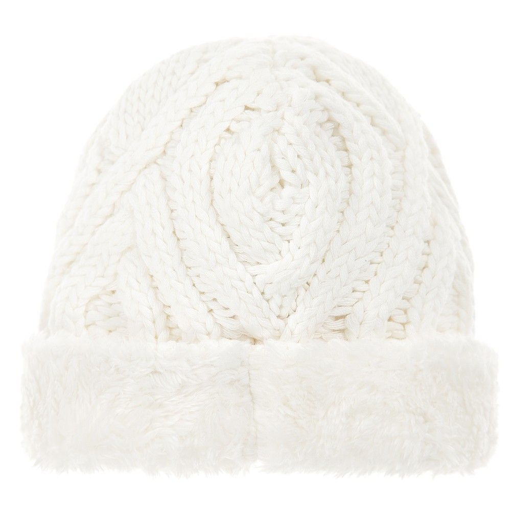 The Little Tailor - Ivory Knitted Baby Hat |