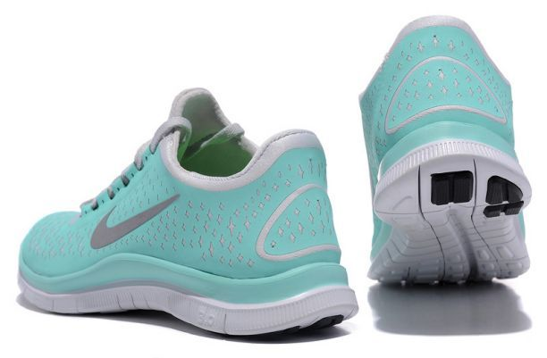 the best attitude c534e 16ef3 Nike Free Womens Tiffany Blue Reflectiv Silver White   Authentic Nike Shoes  For Sale, Buy Womens Nike Running Shoes 2014 Big Discount Off