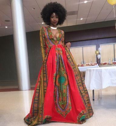 African Girl Prom Dresses