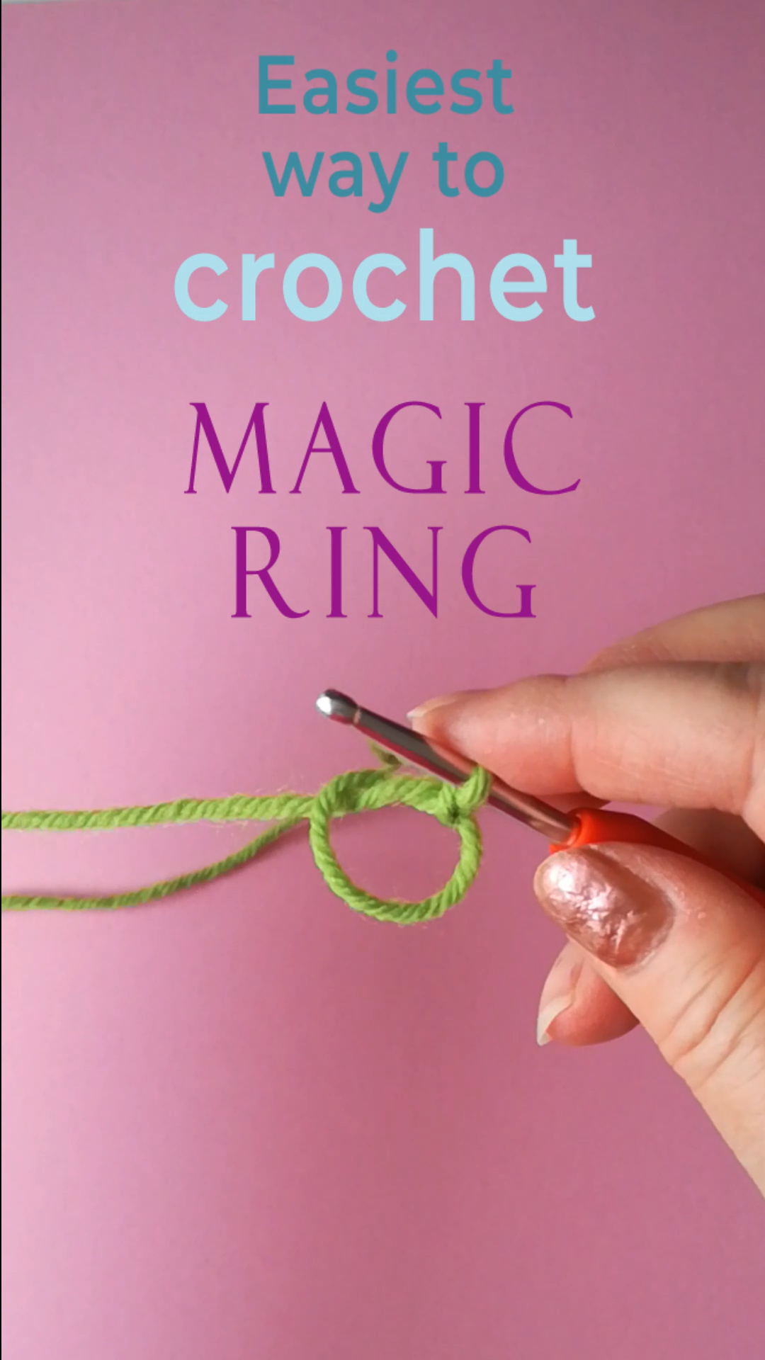 Photo of Easiest way to crochet magic ring