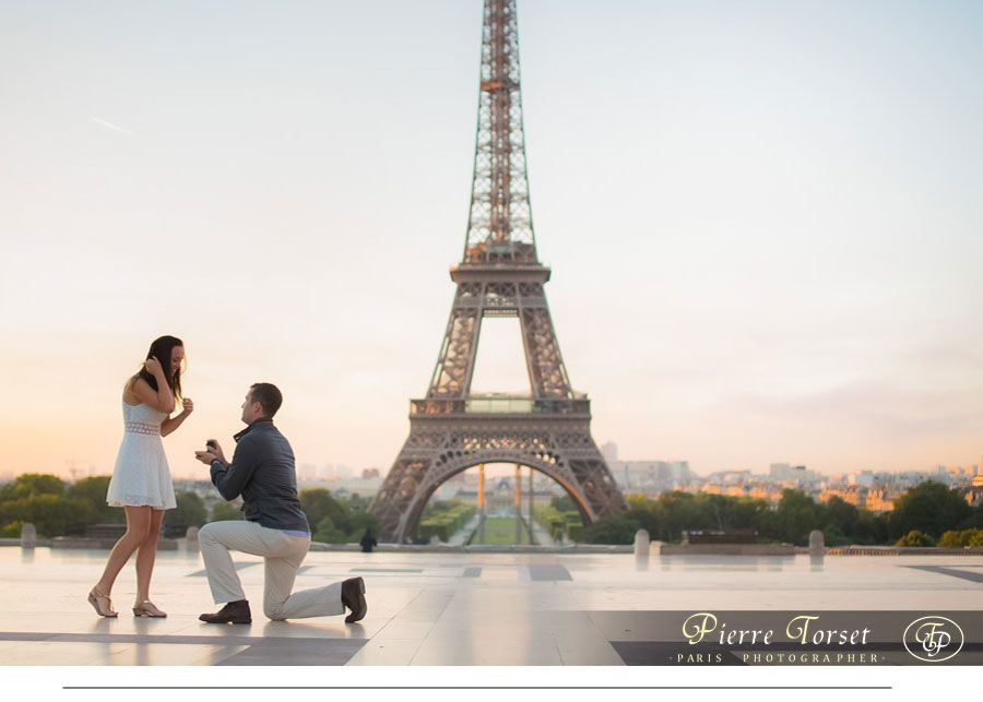 Proposal photoshoot at Eiffel Tower in Paris | My ...
