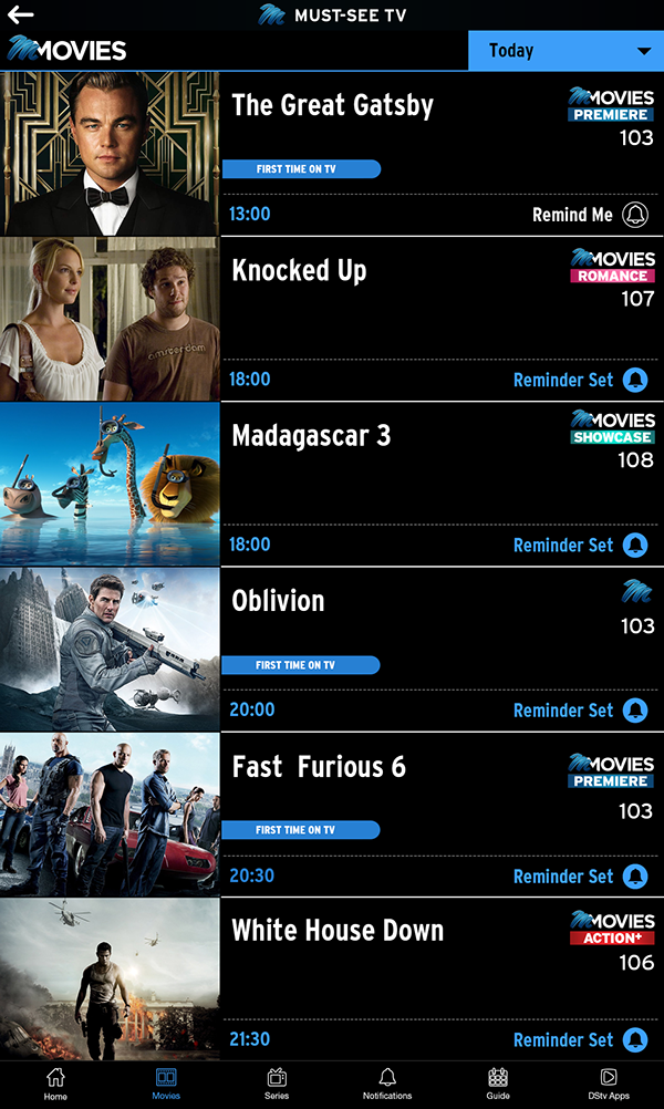 TV Highlights Mobile App Mockup on Behance (With images