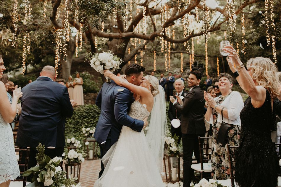 Wedding of the Day Baker Mayfield and Emily Wilkinson's