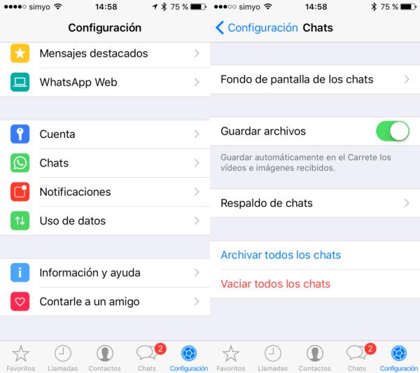 Cómo Vaciar Todos Los Chats De Golpe En Iphone Iphone Borrar Borrando Mensajes