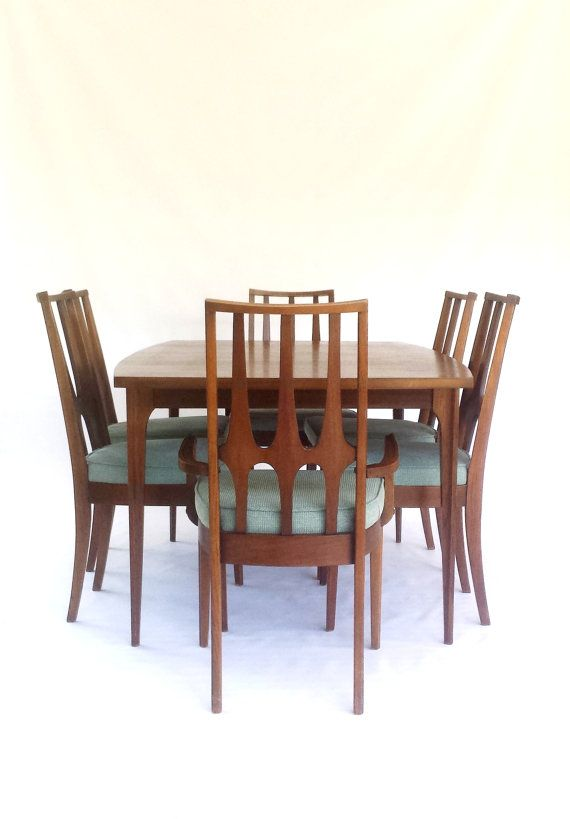 Reserve For Jon Mid Century Modern Broyhill Brasilia Dining Table