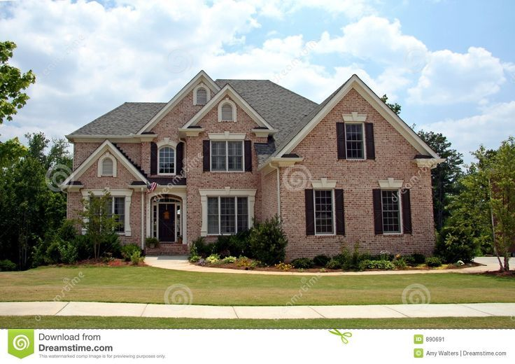house nicest stone and brick exterior - Luxury Homes Exterior Brick