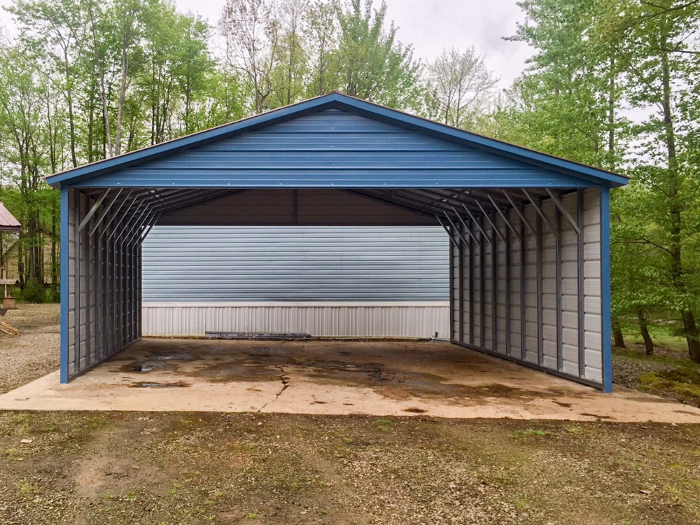 Metal Carport Metal Carport Garage Kits Joplin Mo Steel