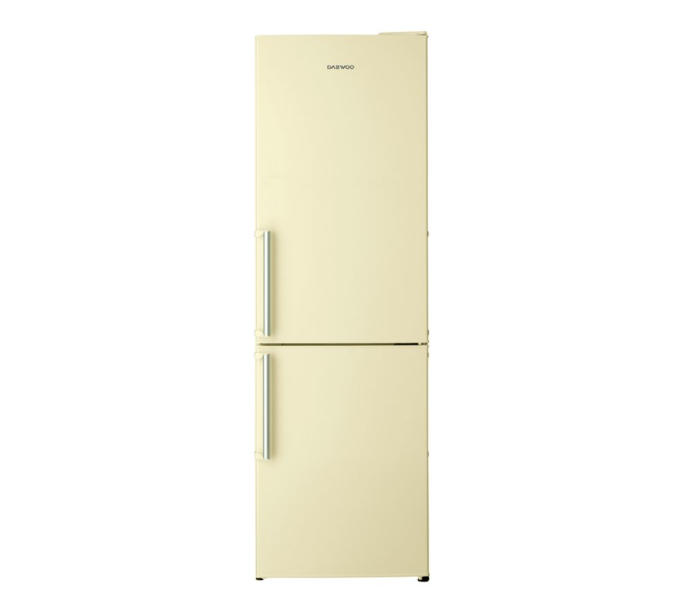 DAEWOO DFF530LC Fridge Freezer - Cream