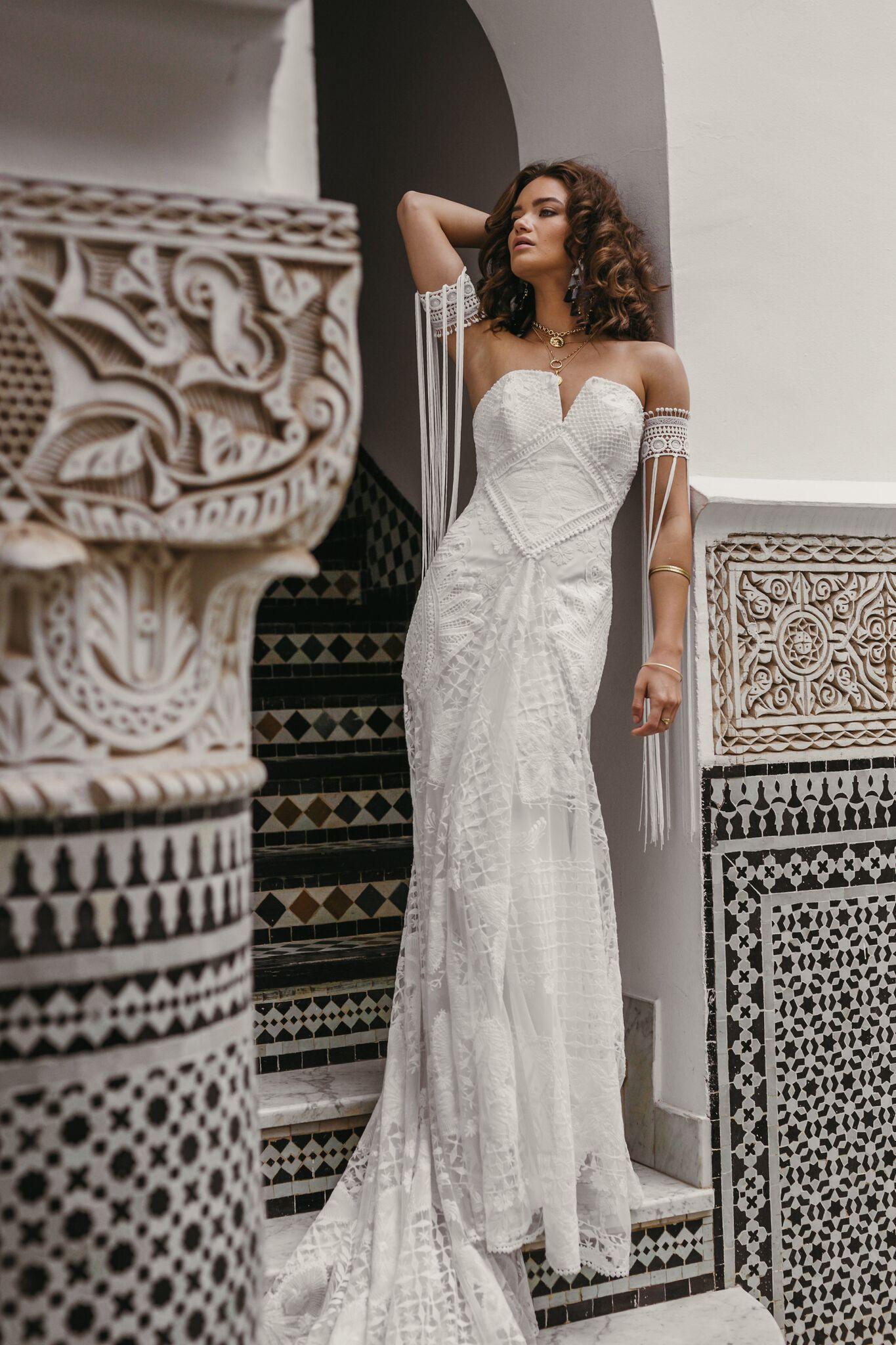 New rue de seine wedding dresses trunk shows beach wedding