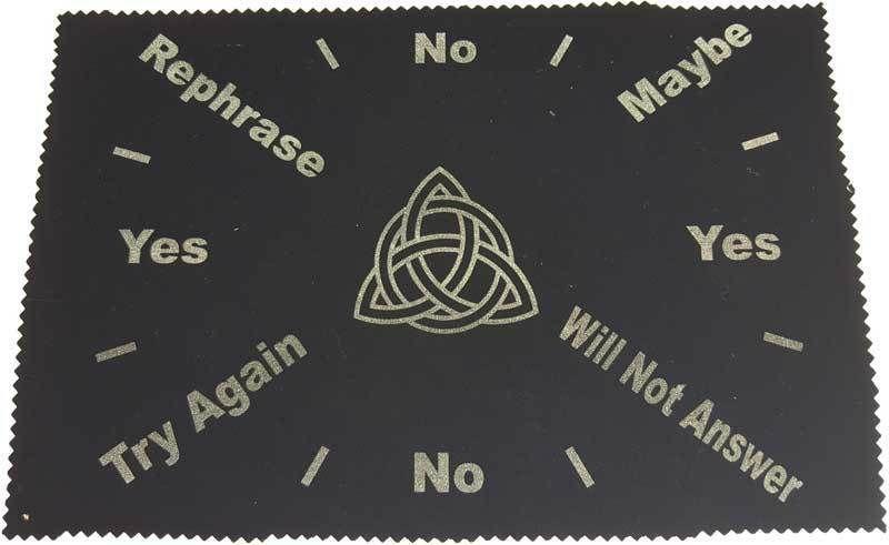 Kheops Pentacle Pendulum Mat Black with Colors