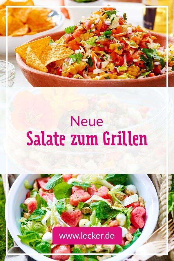 Salate zum Grillen - das schmeckt zu Würstchen, Steak & Co.| LECKER