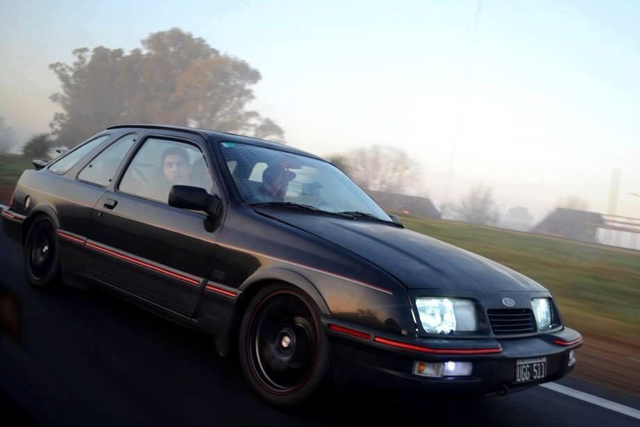 This Is The Stance For The V8 Drift Missile Ford Sierra Ford