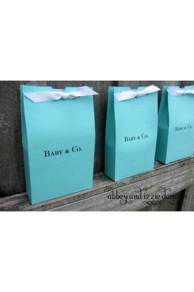 Tiffany Co Baby Shower Favor Idea Baby Shower Favors