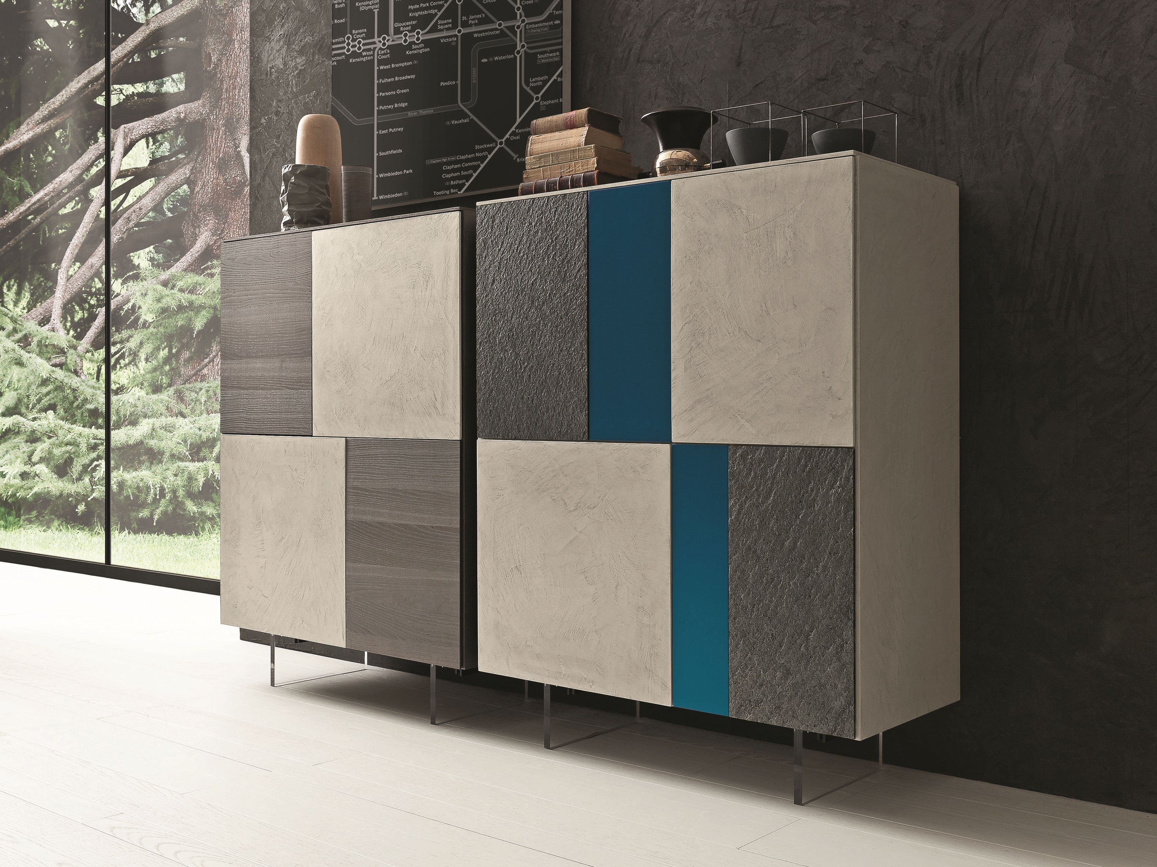 I modulart alacena by presotto industrie mobili dise o for Presotto industrie mobili
