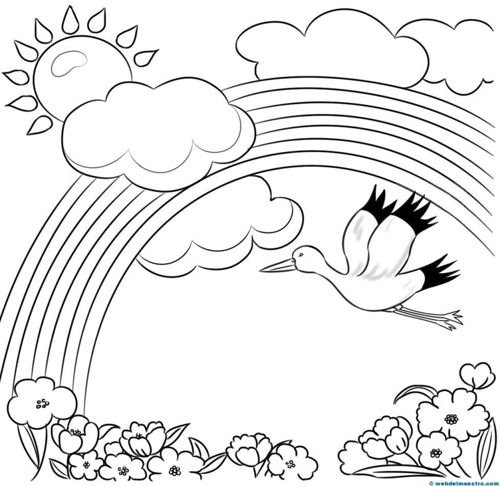Paisajes Para Pintar Web Del Maestro Bird Coloring Pages Cool Coloring Pages Preschool Coloring Pages