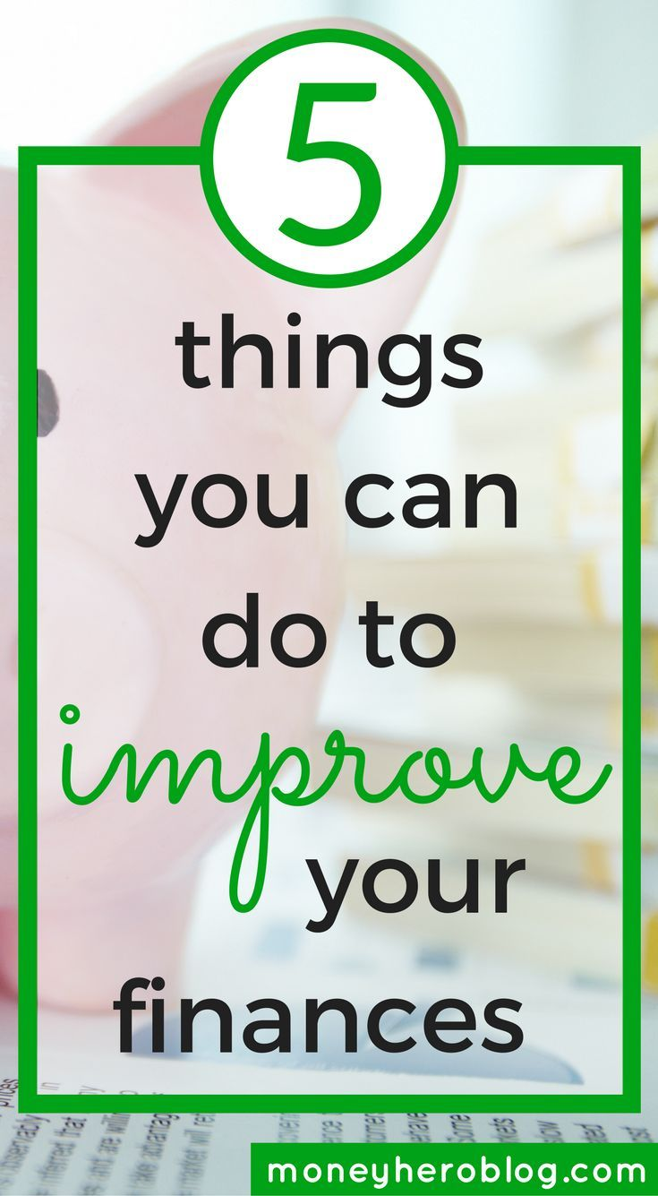 Check out these 5 simple things that you can do to improve