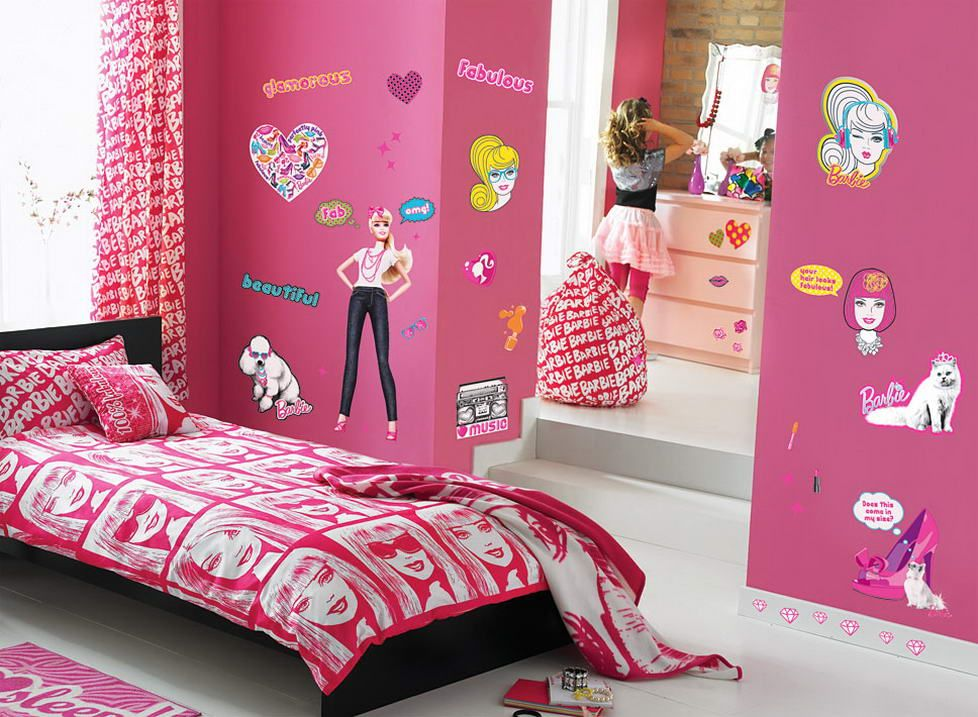 Barbie Inspired Bedroom Barbie Room Barbie Room Decor Barbie