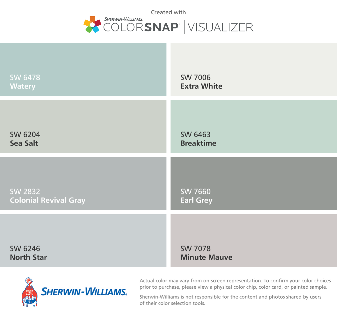 7018 dovetail sherwin williams - I Found These Colors With Colorsnap Visualizer For Iphone By Sherwin Williams Pewter Tankard Sw 0023 Antique White Sw 6119 Laurel Woods Sw