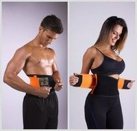 Waist Trainer Cincher Trimmer Sweat Belt Men Women Shapewear Gym Body Shaper Sur