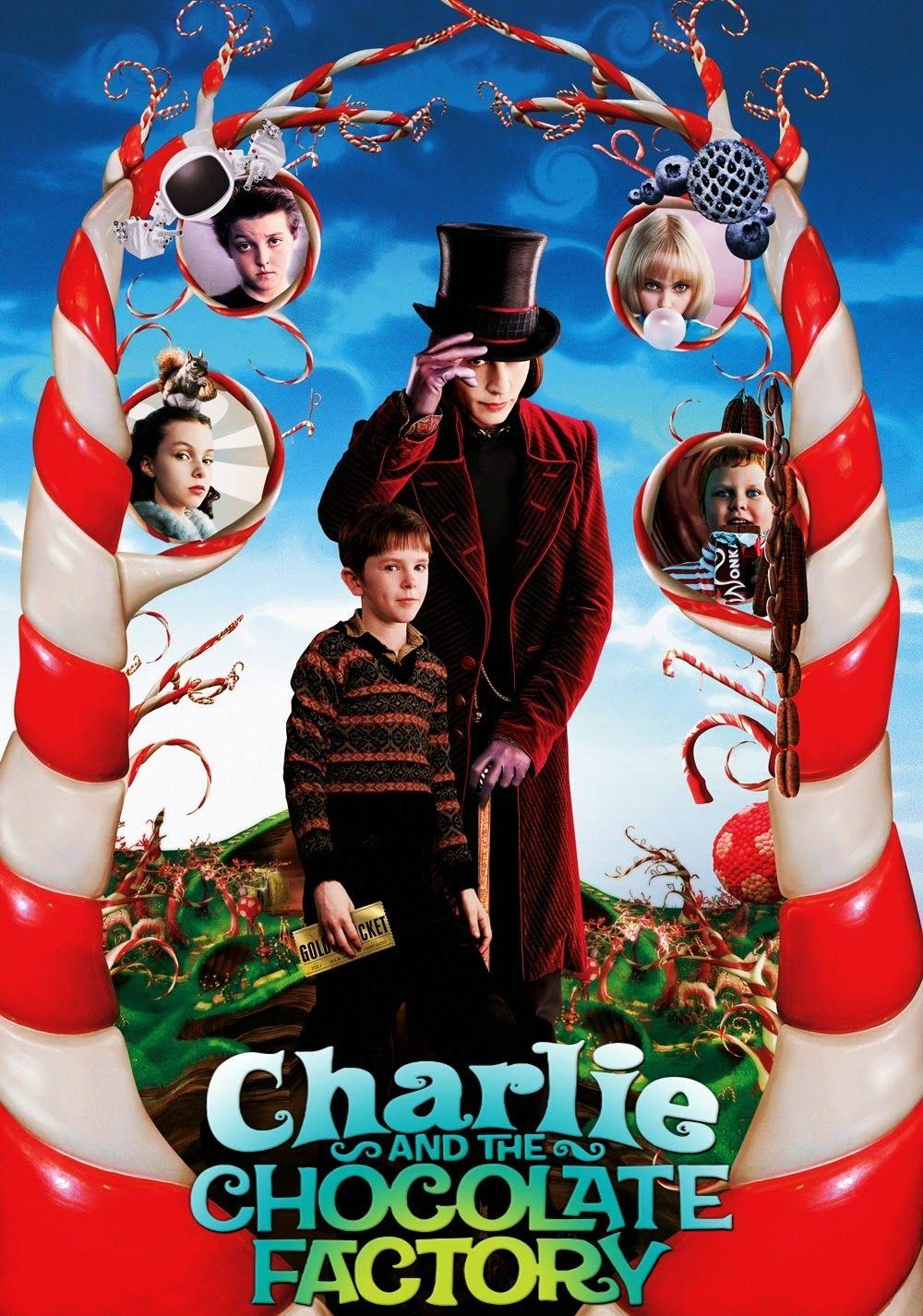 póster de la película Charlie y la fábrica de chocolate