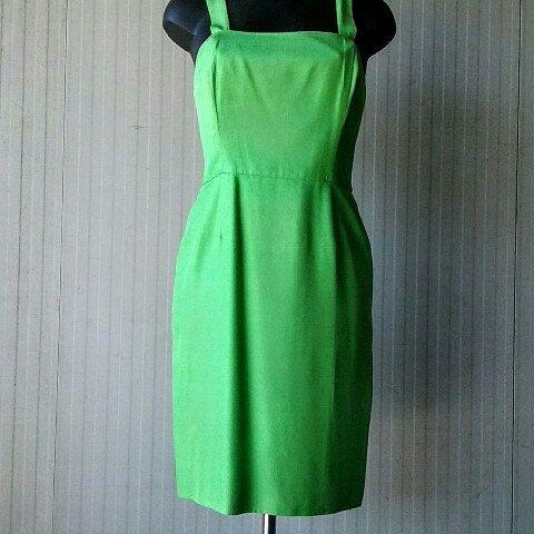 50s shantung dress